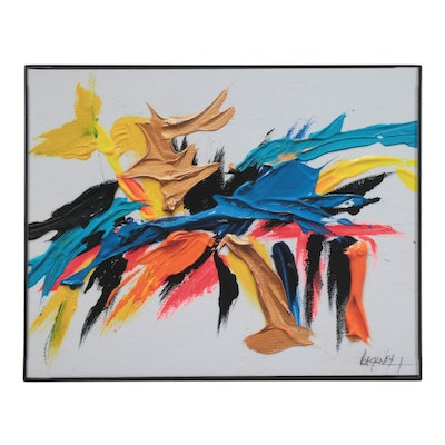 "Abstract Giclée after Robert Lackney ""Scoot,"" 21st Century"
