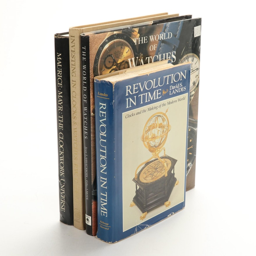 """""""Revolution in Time"""" by David S. Landes and More Horology Reference Books"""