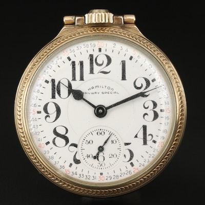 1956 Hamilton Railway Special Pocket Watch