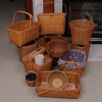 Longaberger Handcrafted Wood Baskets