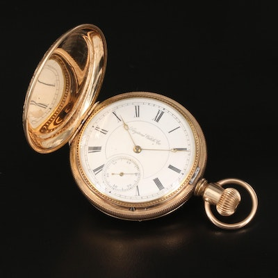 Late 1880s Keystone Standard Watch Co. Pocket Watch
