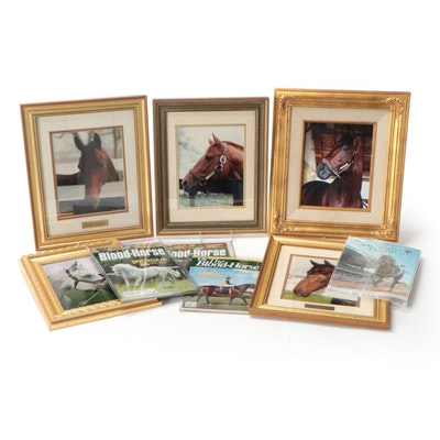 Triple Crown Winners Secretariat and American Pharoah Photos with Forego, Others