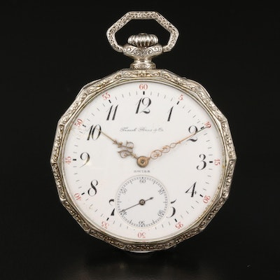 1911 Longines for Frank Bros. & Co. Pocket Watch