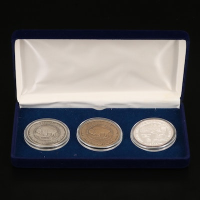 American Numismatic National Money Show Medals Including .999 Silver