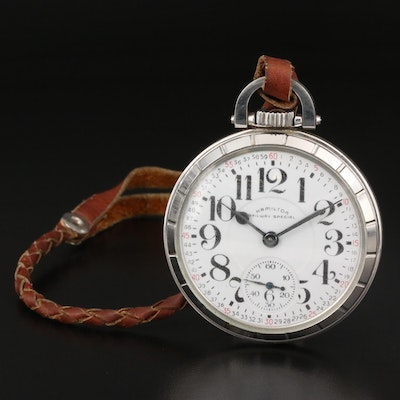1968 Hamilton Railway Special Pocket Watch