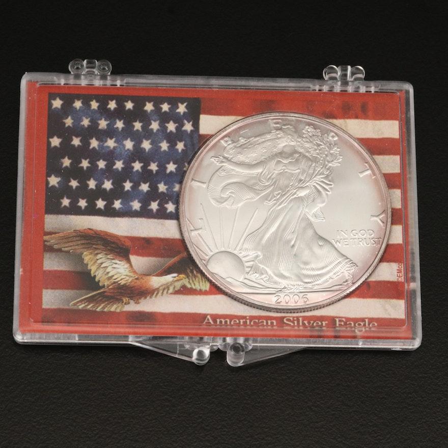 2006 $1 American Silver Eagle Bullion Coin