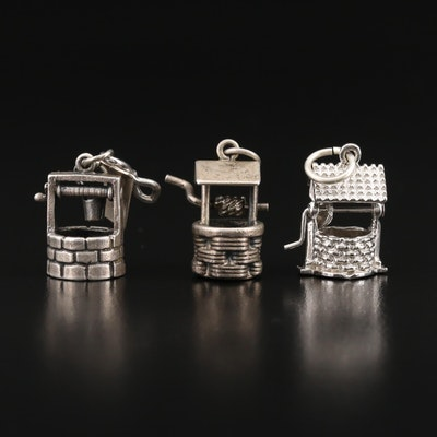 Vintage Articulated Well Charms