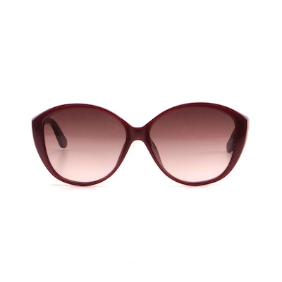 ETRO ET612SK Bordeaux Burgundy Butterfly Frame Sunglasses