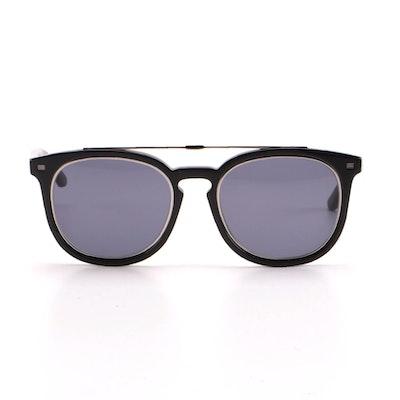 ETRO ET641S Black Horn-Rimmed Sunglasses
