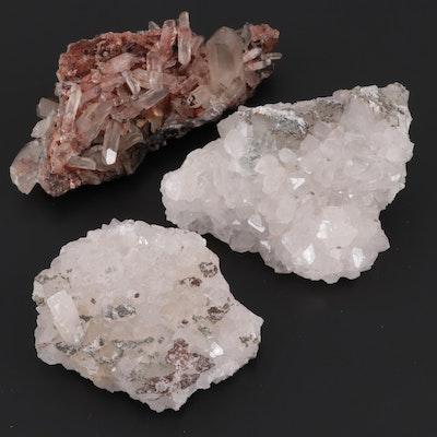 Raw Quartz Crystal Specimens