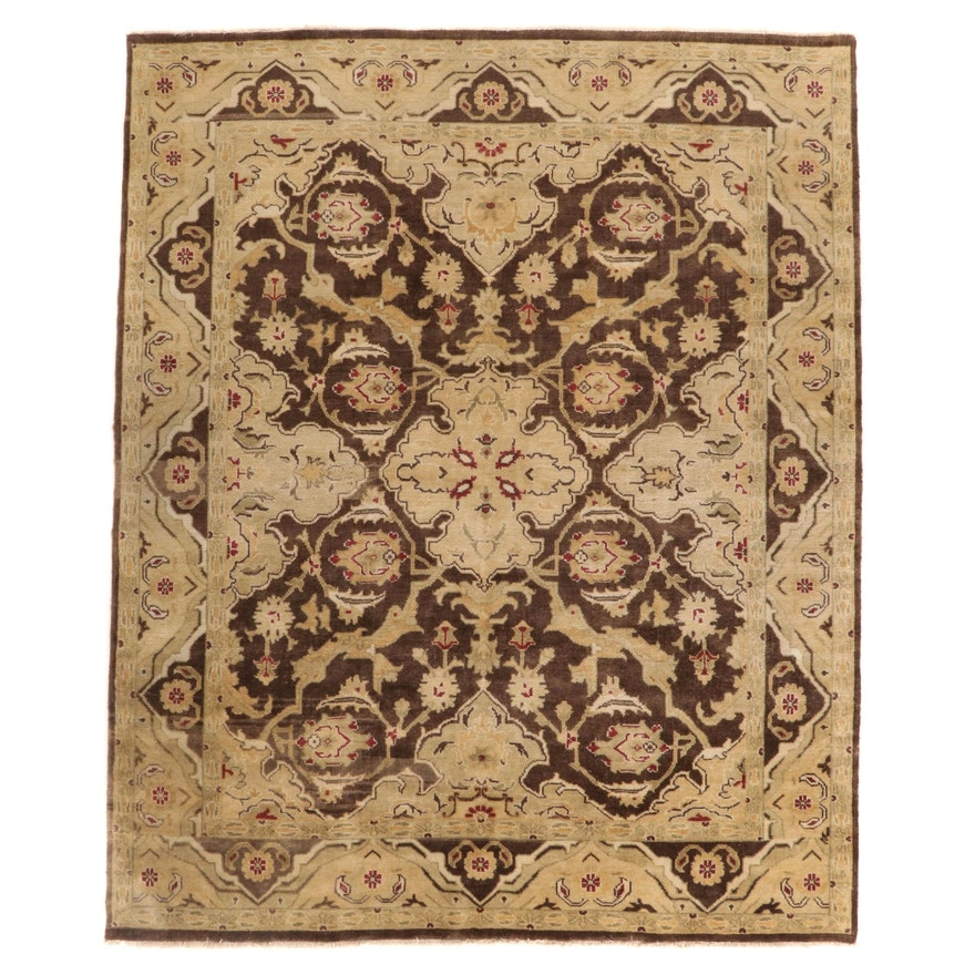 8' x 10'1 Hand-Knotted Arhaus' Furniture Indo-Turkish Oushak Area Rug