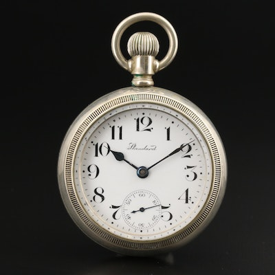 1905 New York Standard Watch Co. Pocket Watch