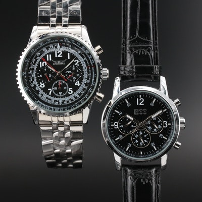 Jaguar and ESS Multifunction Automatic Wristwatches