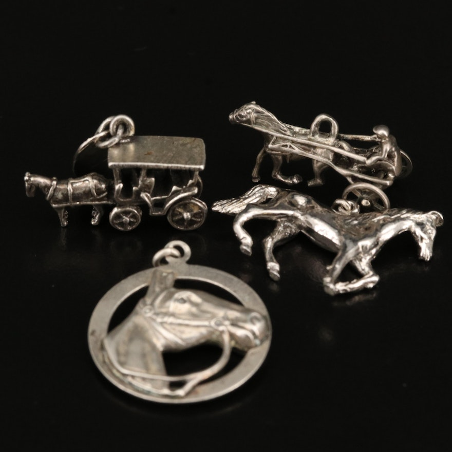 Vintage Equestrian Charm Selection