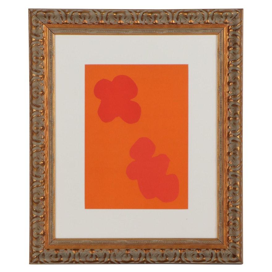 "Henri Matisse Color Lithograph Cover for ""Verve,"" 1958"