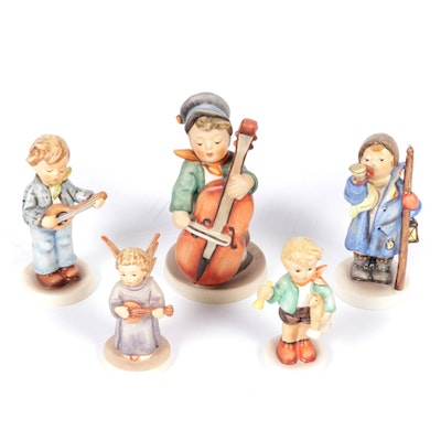 "Goebel ""Sweet Music,"" ""Hear Ye, Hear Ye"" and Other Porcelain Hummel Figurines"