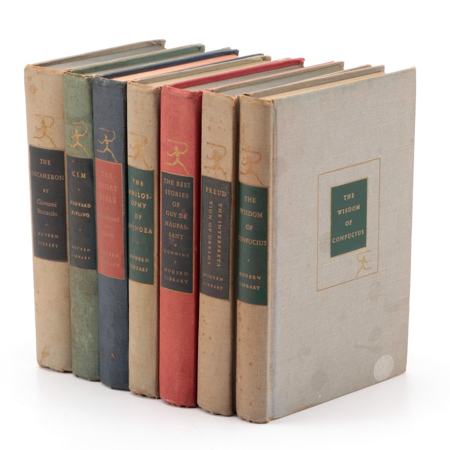 Modern Library Fiction and Nonfiction Classics Including Kipling and Freud