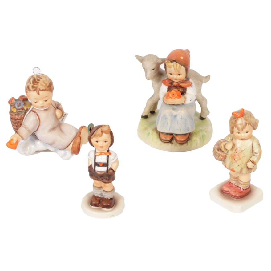 """Goebel """"Love from Above"""" and Other Porcelain Hummel Figurines"""