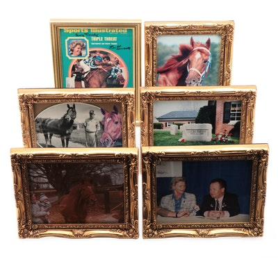Secretariat Through the Years, Ron Turcotte, Penny Tweedy Signed 1973 SI, More