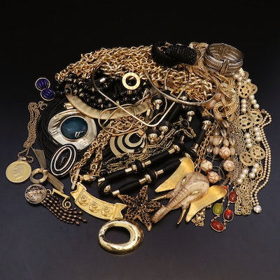 Vintage Jewelry Featuring Michael Kors and Florenza
