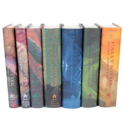 "Complete First American Edition ""Harry Potter"" Set by J. K. Rowling"