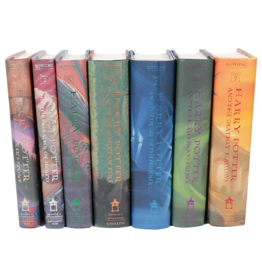 """Complete First American Edition """"Harry Potter"""" Set by J. K. Rowling"""