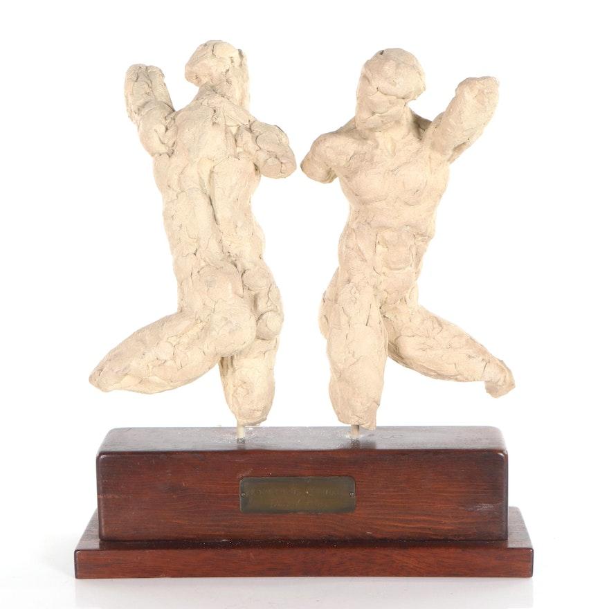 "David Klass Figurative Terracotta Sculptures ""Prometheus Studies"""