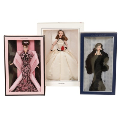 Givenchy, Vera Wang, and Hanae Mori for Mattel Limited Edition Barbie Dolls