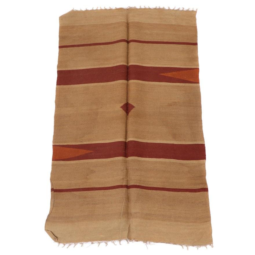 3'6 x 6'4 Handwoven Egyptian Kilim Area Rug