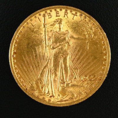1922 Saint-Gaudens $20 Gold Double Eagle