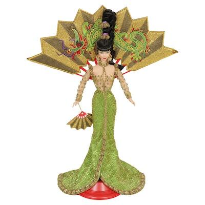"""Bob Mackie for Mattel """"Fantasy Goddess of Asia"""" Barbie Doll, 1998"""