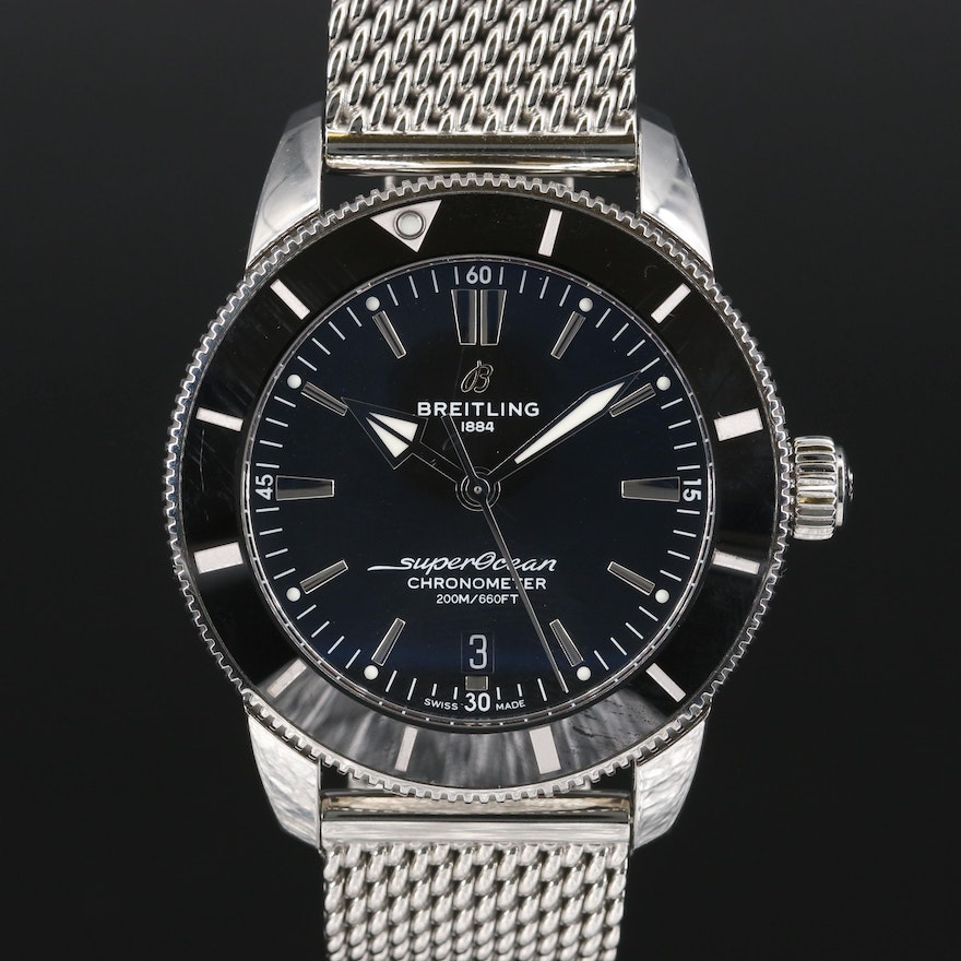 """Breitling """"SuperOcean Heritage"""" B20 Automatic Wristwatch"""