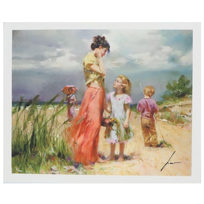 "Pino Daeni Giclée ""Remember When,"" 21st Century"