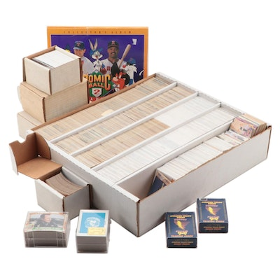 Upper Deck Comic Ball 2 Cards, Desert Storm Trading Cards, and More