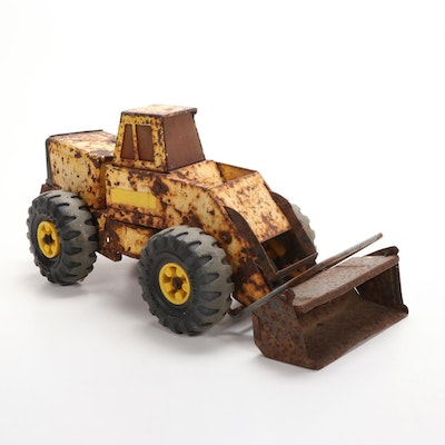 Tonka XMB-975 Pressed Steel Front End Loader, 1970s