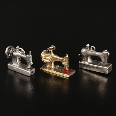 Vintage Sewing Machine Charms
