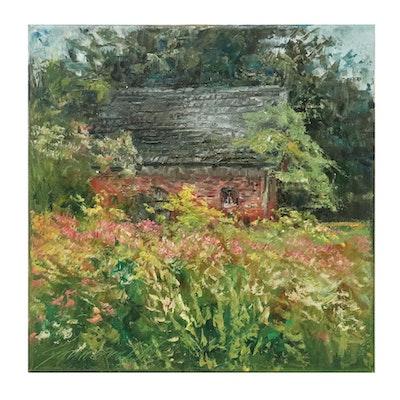 """Garncarek Aleksander Oil Painting """"Domeh,"""" 2020"""