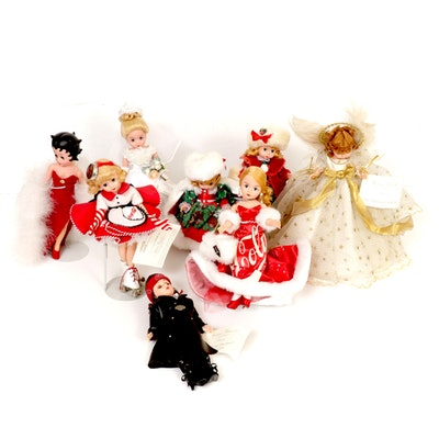 """Madame Alexander Dolls Including """"Betty Boop"""", Coca-Cola Themed and More"""
