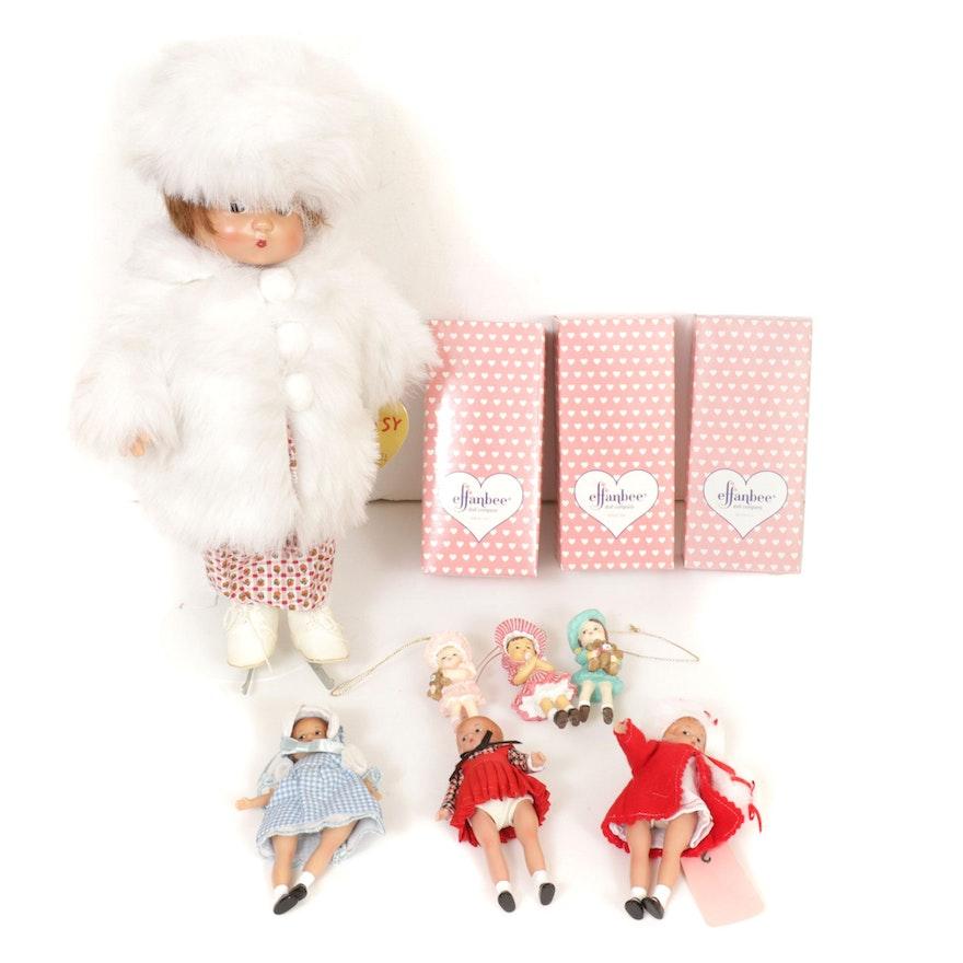 "Effanbee Dolls Including ""Patsy"", Mid-20th Century"