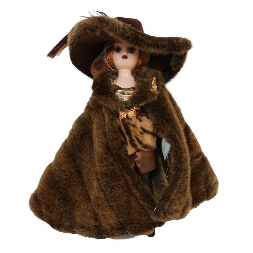 "Madame Alexander ""Cissy Milan"" Porcelain Doll, 1998"