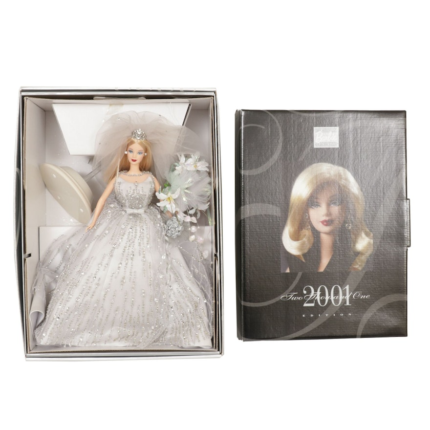 "Mattel ""Millennium Bride"" and 2001 Collector's Club Edition Clothing"