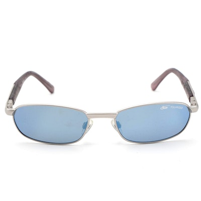 Bollé Polarized Mirrored Lens Sport Aviators with Case