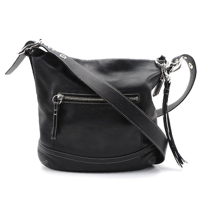 Coach Soho Slim Black Leather Crossbody Bag