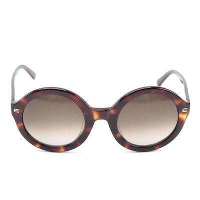 ETRO ET614SK Dark Havana Round Sunglasses