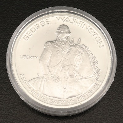 1982-S George Washington Bicentennial Proof Silver Half Dollar