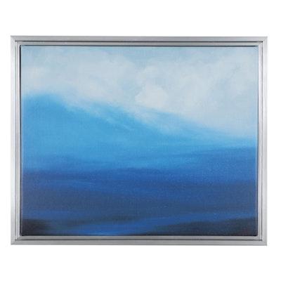 "Sarah Brown Giclée ""Descending Mist,"" 21st Century"
