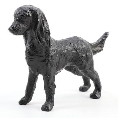 Cast Metal Springer Spaniel Figurine