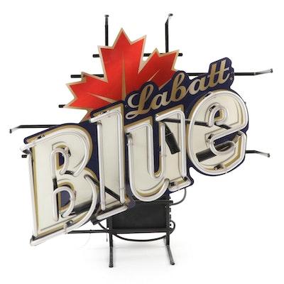 """""""Labatt Blue"""" Beer Neon Sign"""