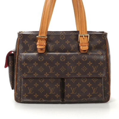 Louis Vuitton Multipli-Cité in Monogram Canvas and Vachetta Leather
