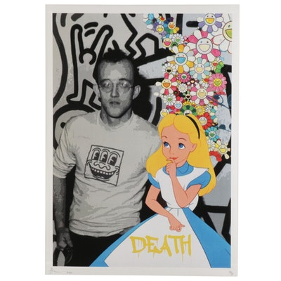 "Death NYC Pop Art Graphic Print ""Alice Haring,"" 2020"